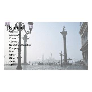 Plaza San Marco, Venecia, Italia Tarjetas De Visita