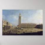 Plaza San Marco, Venecia Póster