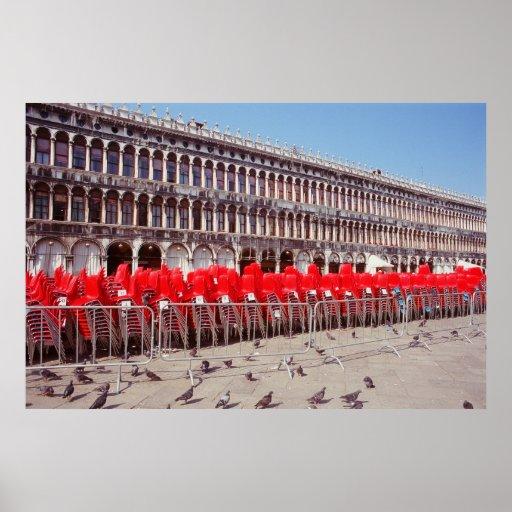 Plaza San Marco, Venezia Posters
