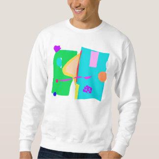 Plaza Stall Shower Neighborhood Walk Flower Shop Pullover Sweatshirt