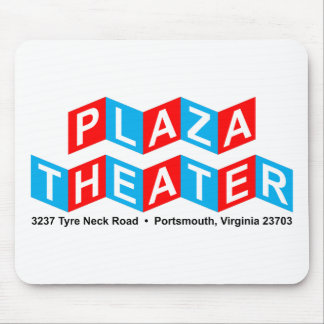 Plaza Theater Mouse Pad