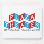 Plaza Theater Mouse Pads