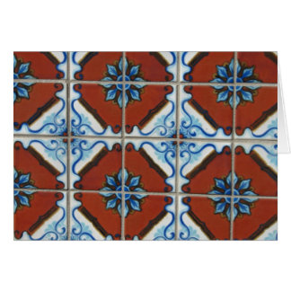 Plaza Tile Detail Photography, Birthday Card