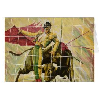 Plaza Tiles Art Card