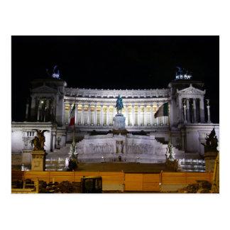 Plaza Venezia en la noche Tarjetas Postales