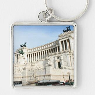 Plaza Venezia en Roma durante hora punta