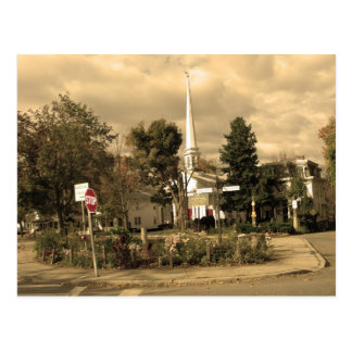 Plaza Woodstock, NY Tarjetas Postales