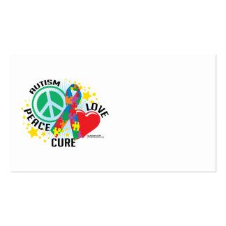 PLC del autismo Tarjetas De Visita