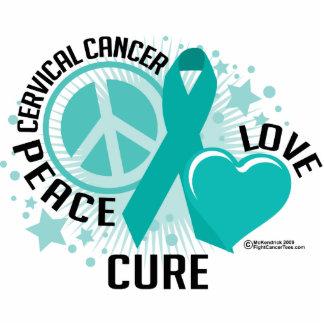 PLC del cáncer de cuello del útero Fotoescultura Vertical