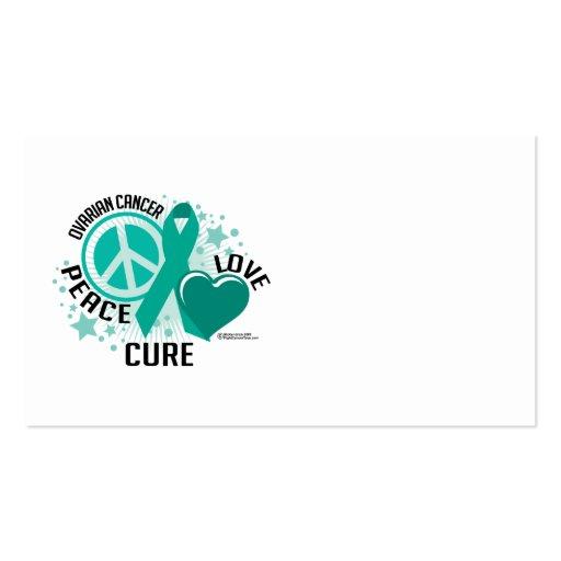 PLC del cáncer ovárico Tarjetas De Visita