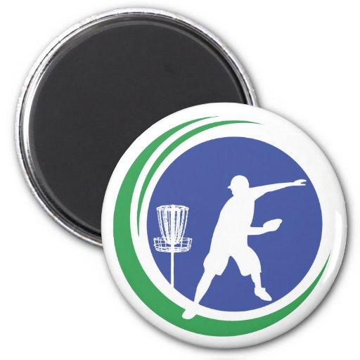 PLDGA Logo 2 Inch Round Magnet