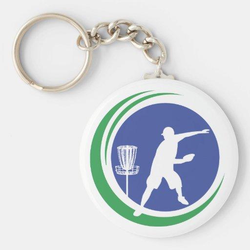 PLDGA Logo Basic Round Button Keychain