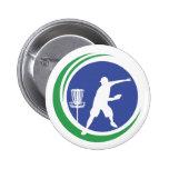 PLDGA Logo Pinback Buttons