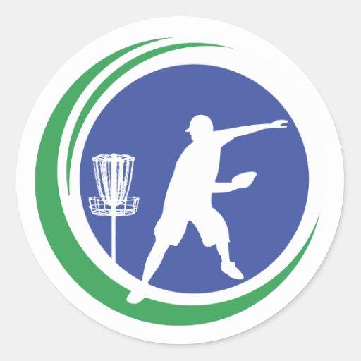 PLDGA Logo Round Sticker