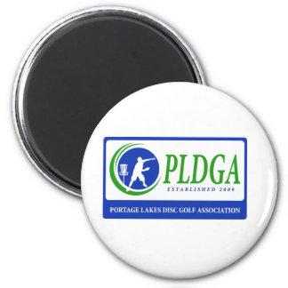 PLDGA Web Site Logo 2 Inch Round Magnet