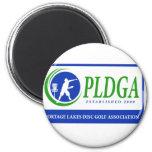 PLDGA Web Site Logo Refrigerator Magnet
