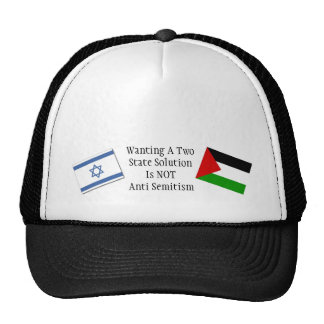 Plea for peace in the Middle East Trucker Hat