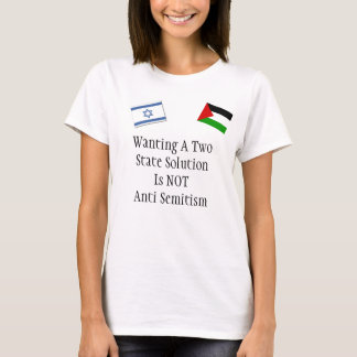 Plea for peace in the Middle East T-Shirt