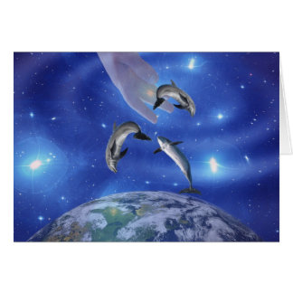 Pleaides Art of Creation Greeting Card
