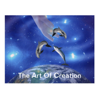 Pleaides Art of Creation Post Card