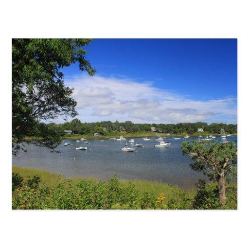 Pleasant Bay Orleans Cape Cod Postcard
