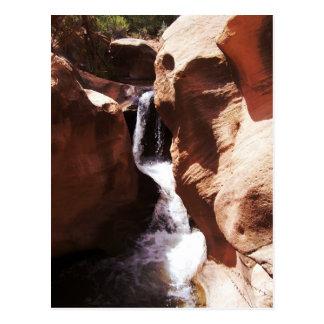 Pleasant Creek Falls, Utah Postcard