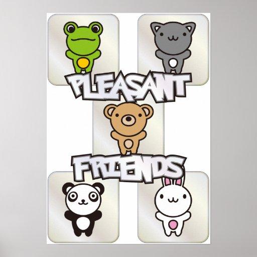 Pleasant_Friends Poster