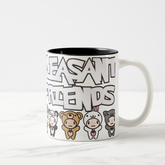 Pleasant_Friends Two-Tone Coffee Mug