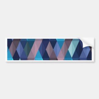 Pleasant june,blue car bumper sticker