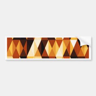 pleasant june, brown car bumper sticker