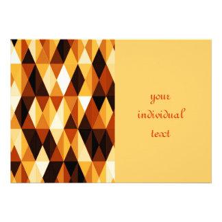 Pleasant june brown custom invitations