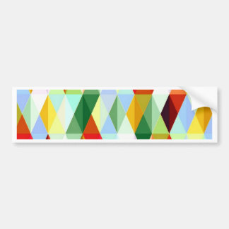 Pleasant june,colorful car bumper sticker