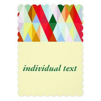 Pleasant june colorful personalized invites