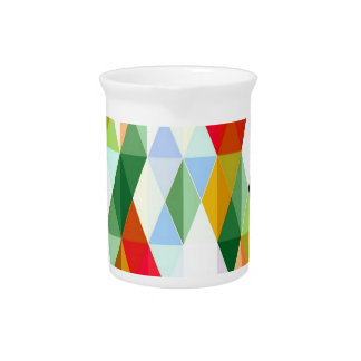 Pleasant june,colorful beverage pitchers