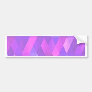 Pleasant june,pink car bumper sticker
