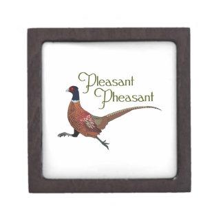 Pleasant Pheasant Premium Keepsake Boxes