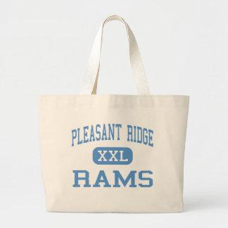 Pleasant Ridge - Rams - High - Easton Kansas Tote Bags