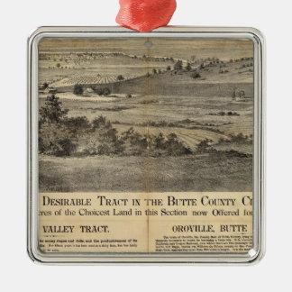 Pleasant Valley, California Metal Ornament