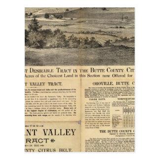 Pleasant Valley, California Postcard