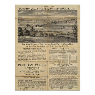 Pleasant Valley, California Poster