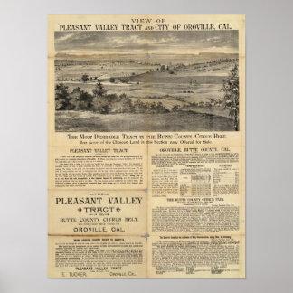 Pleasant Valley, California Poster