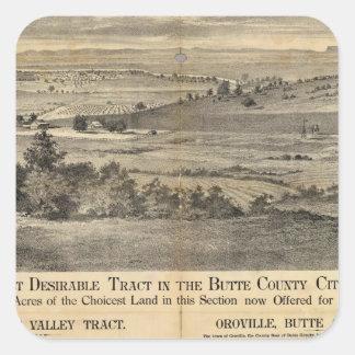 Pleasant Valley, California Square Sticker