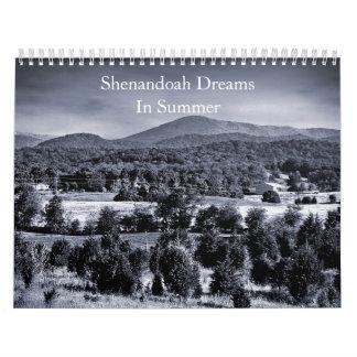 Pleasant Valley, Shenandoah Dreams In Summer Calendar