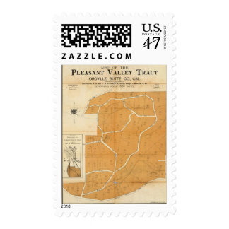 Pleasant Valley Tract, Oroville, California Postage Stamp