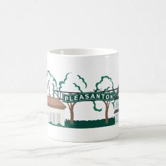 Pleasanton Downtown Classic White Coffee Mug
