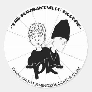 Pleasantville Killerz Classic Round Sticker