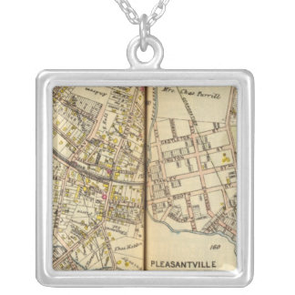 Pleasantville, New York 2 Silver Plated Necklace