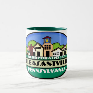 Pleasantville Pennsylvania small town coffee mug