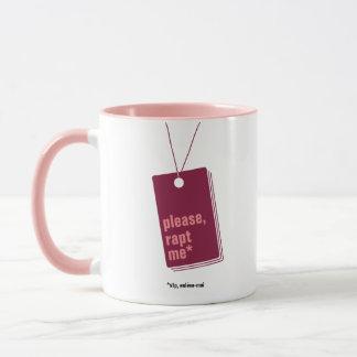 Please, abduction me* - text personnalisable mug