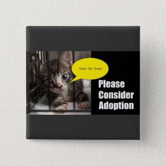 Please Adopt Me button